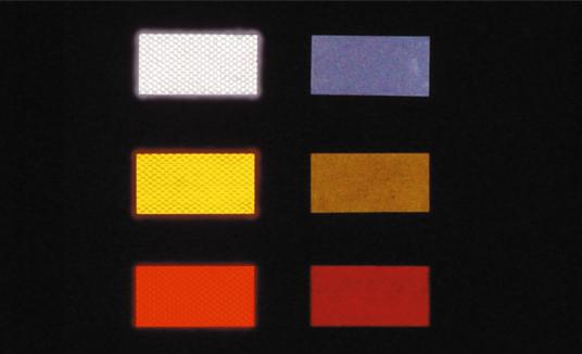 超高輝度反射テープ